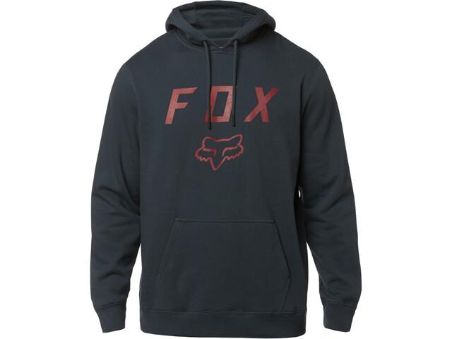 Fox Legacy Moth Fleece Trui Heren, navy/red